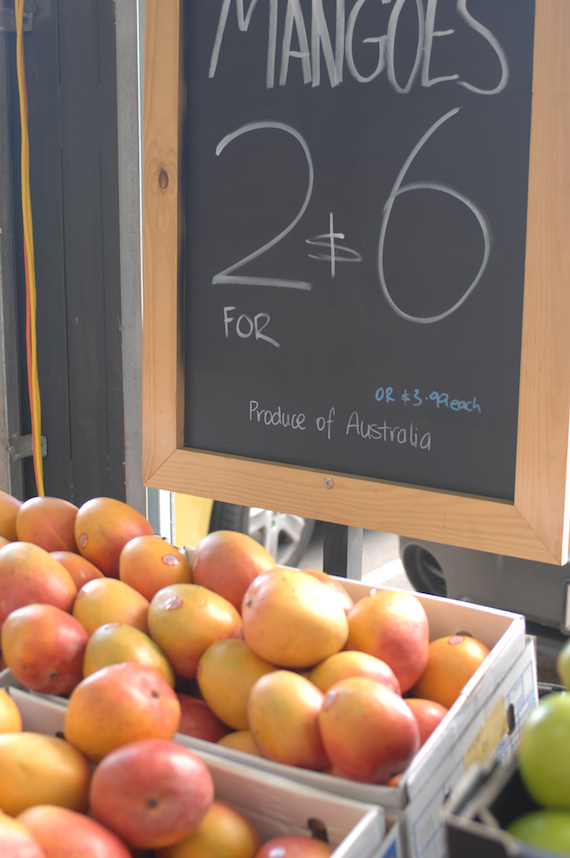 Mangoes at Fyshwick