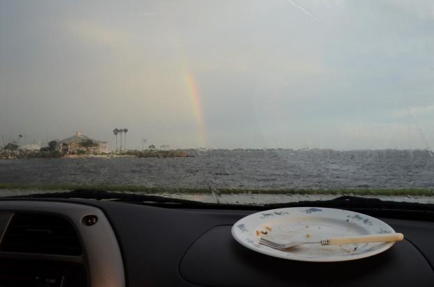 Davis Island Picnic rainbow